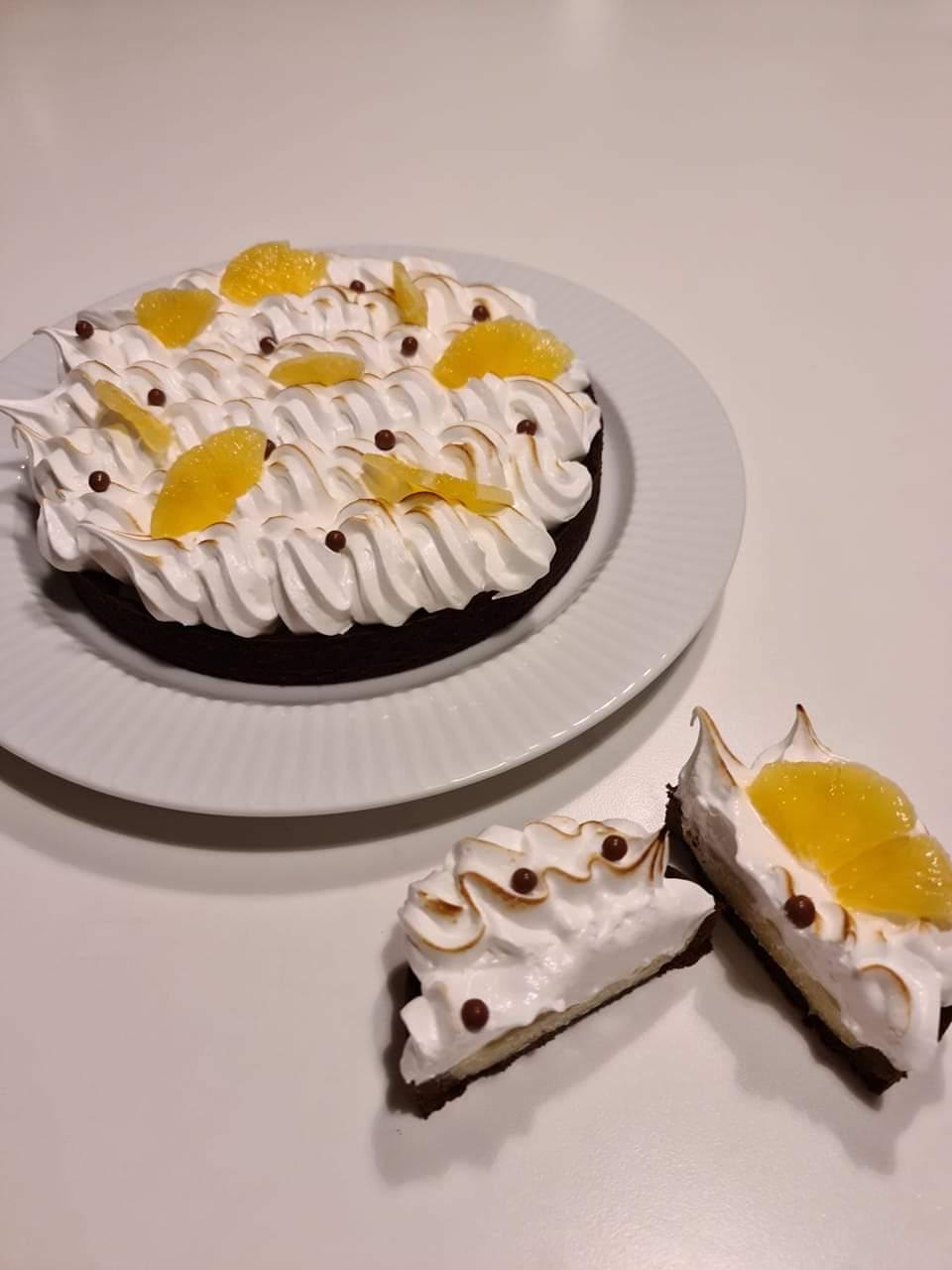Appelsintærte